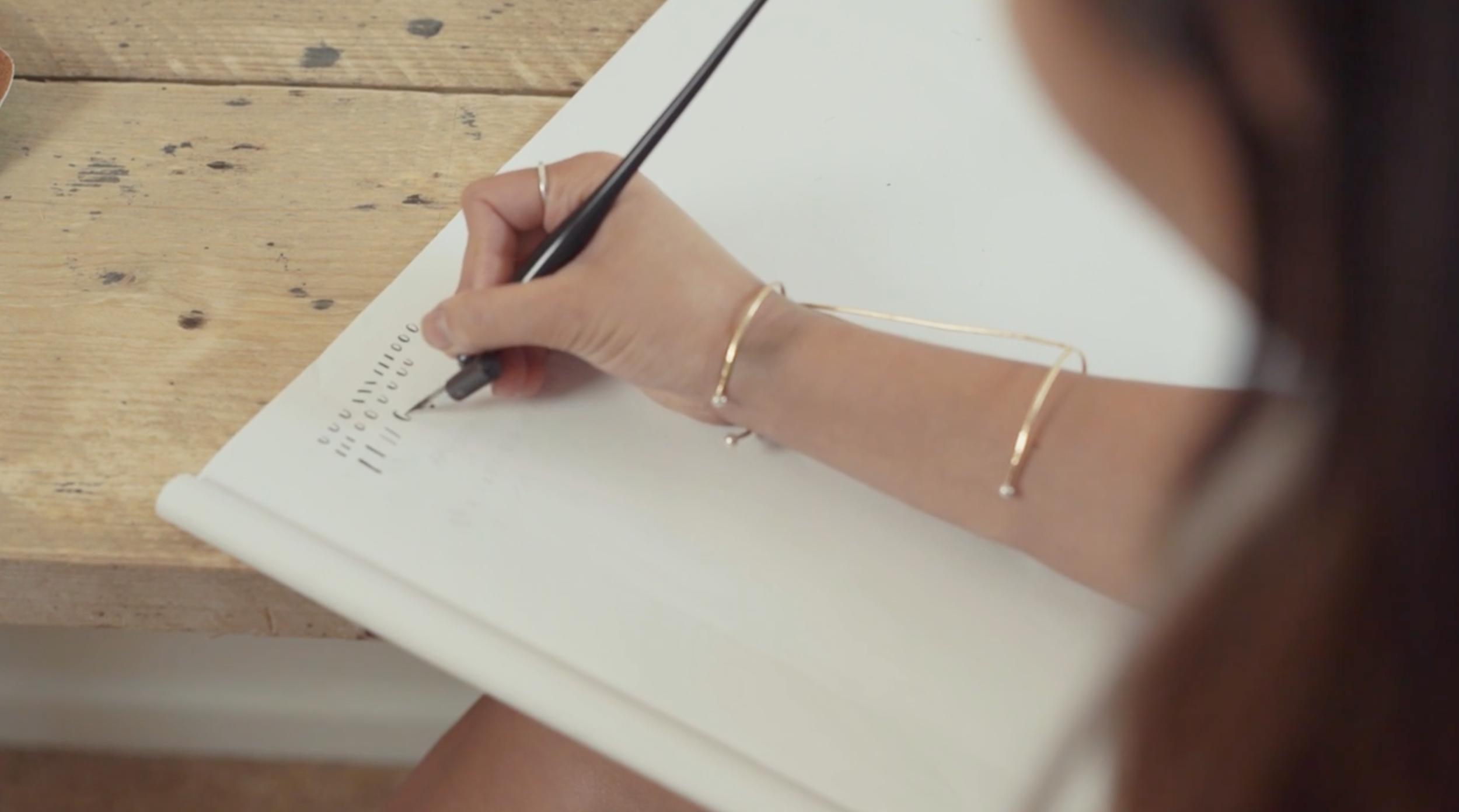 Belinda Love Lee Skillshare Practice - Lettering Tutorial