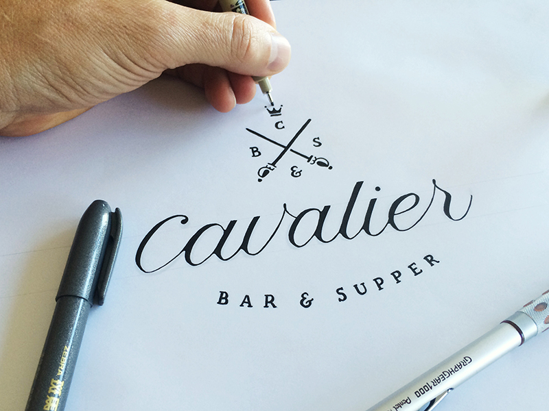 Matt Vergotis Cavalier - Lettering Tutorial