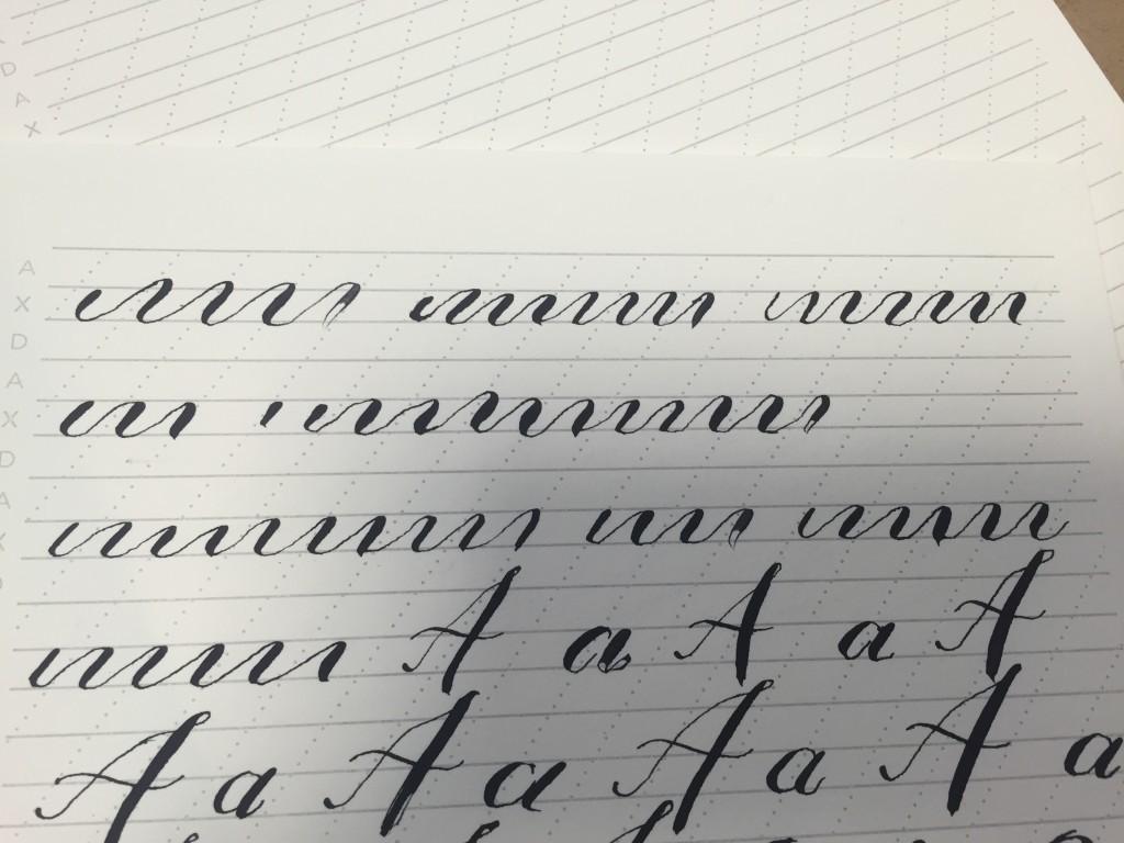 Meticulous Ink Lettering Practice - Lettering Tutorial