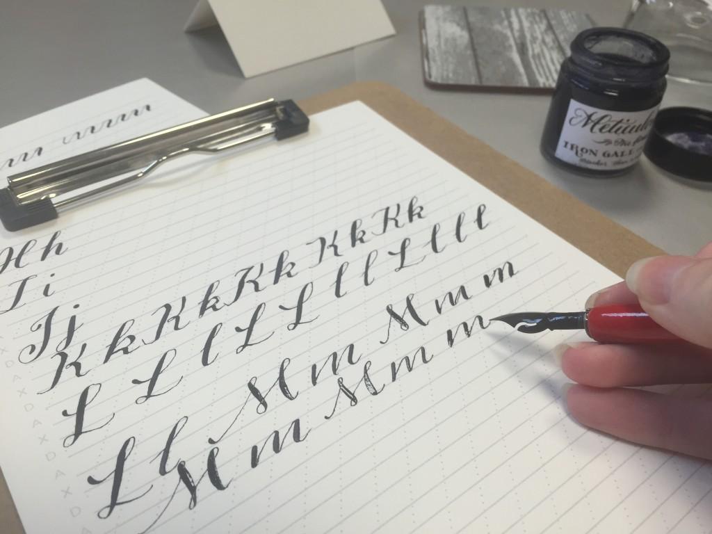 Meticulous Ink Workshop - Lettering Tutorial