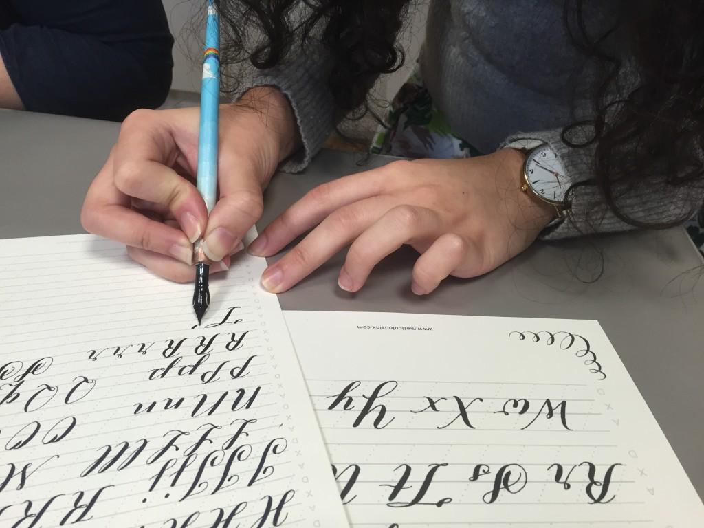 Meticulous Ink Lettering Demonstration - Lettering Tutorial