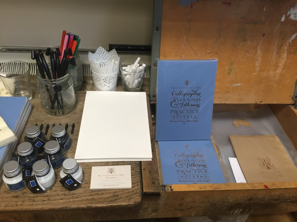 Meticulous Ink Lettering And Calligraphy Equipment