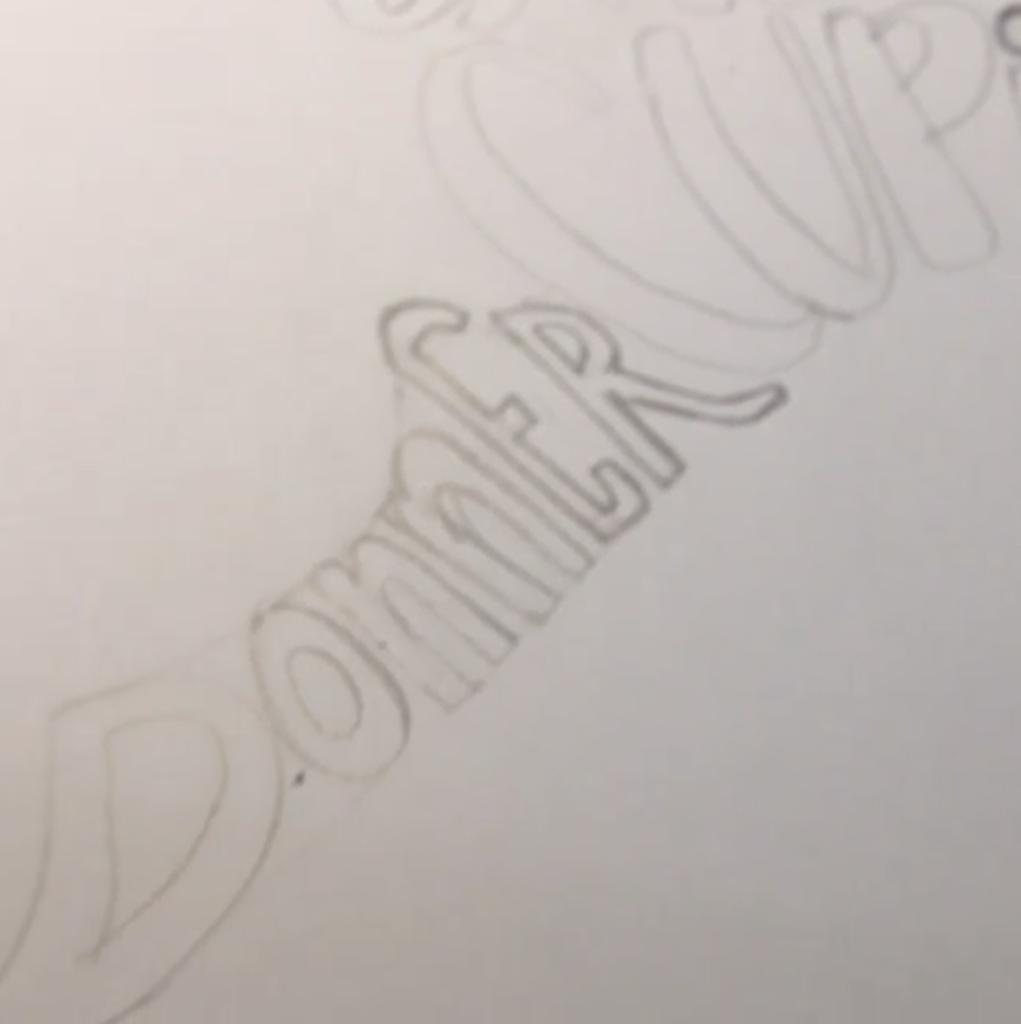 Reindeer Refined Pencil Emma Holmes - Lettering Tutorial