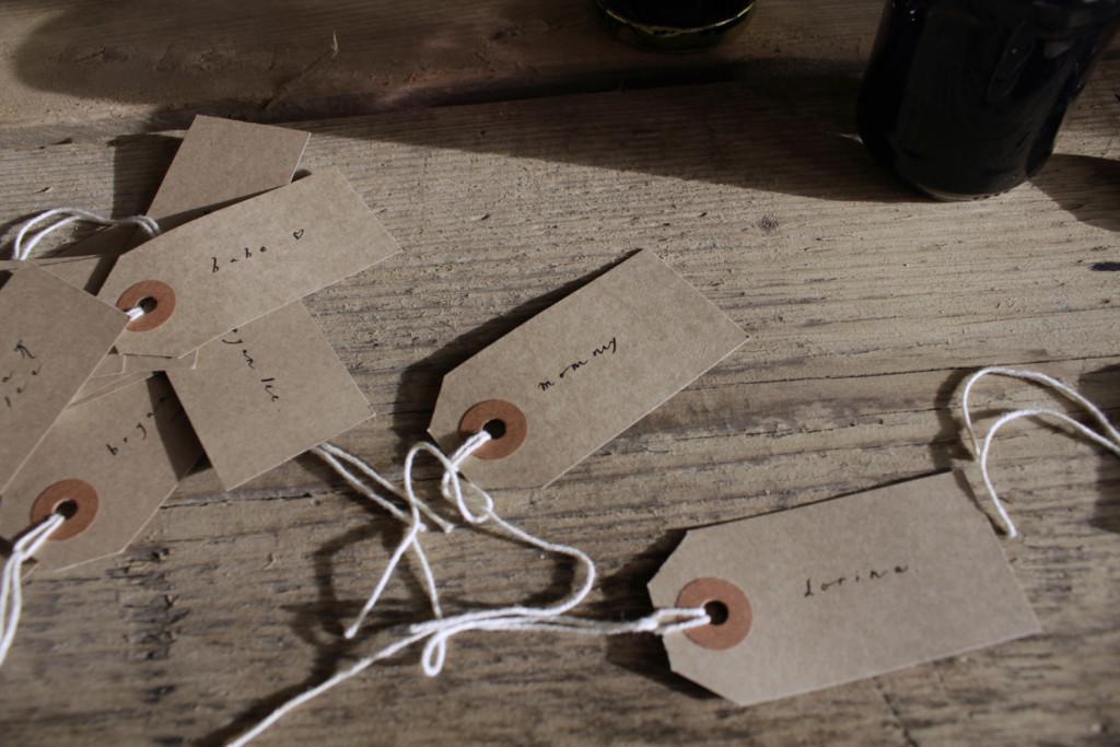 Belinda Love Lee Gift Tags Calligraphy 2 - Lettering Tutorial