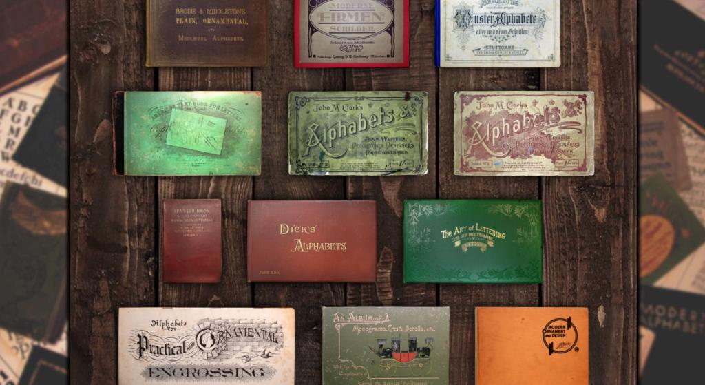 Lettering Library Vintage Books - Lettering Tutorial