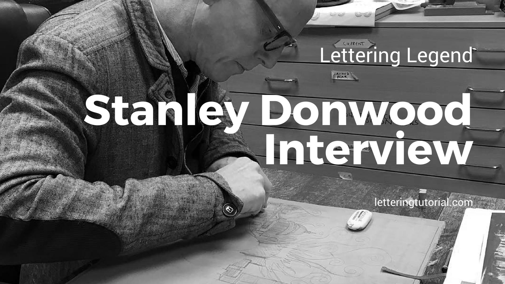 Lettering Legend Stanley Donwood Interview - Lettering Tutorial