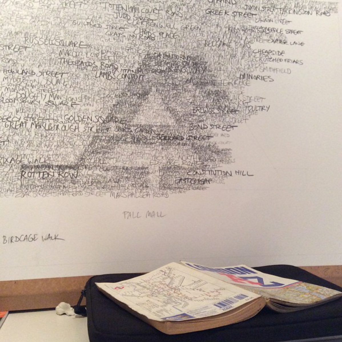 Stanley Donwood A-Z - Lettering Tutorial