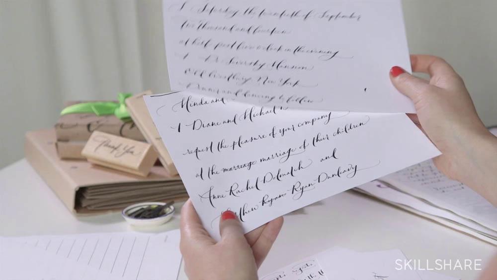 Bryn Chernoff Skillshare - Lettering Tutorial