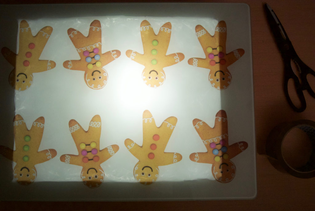 Finished DIY Light Box - Lettering Tutorial