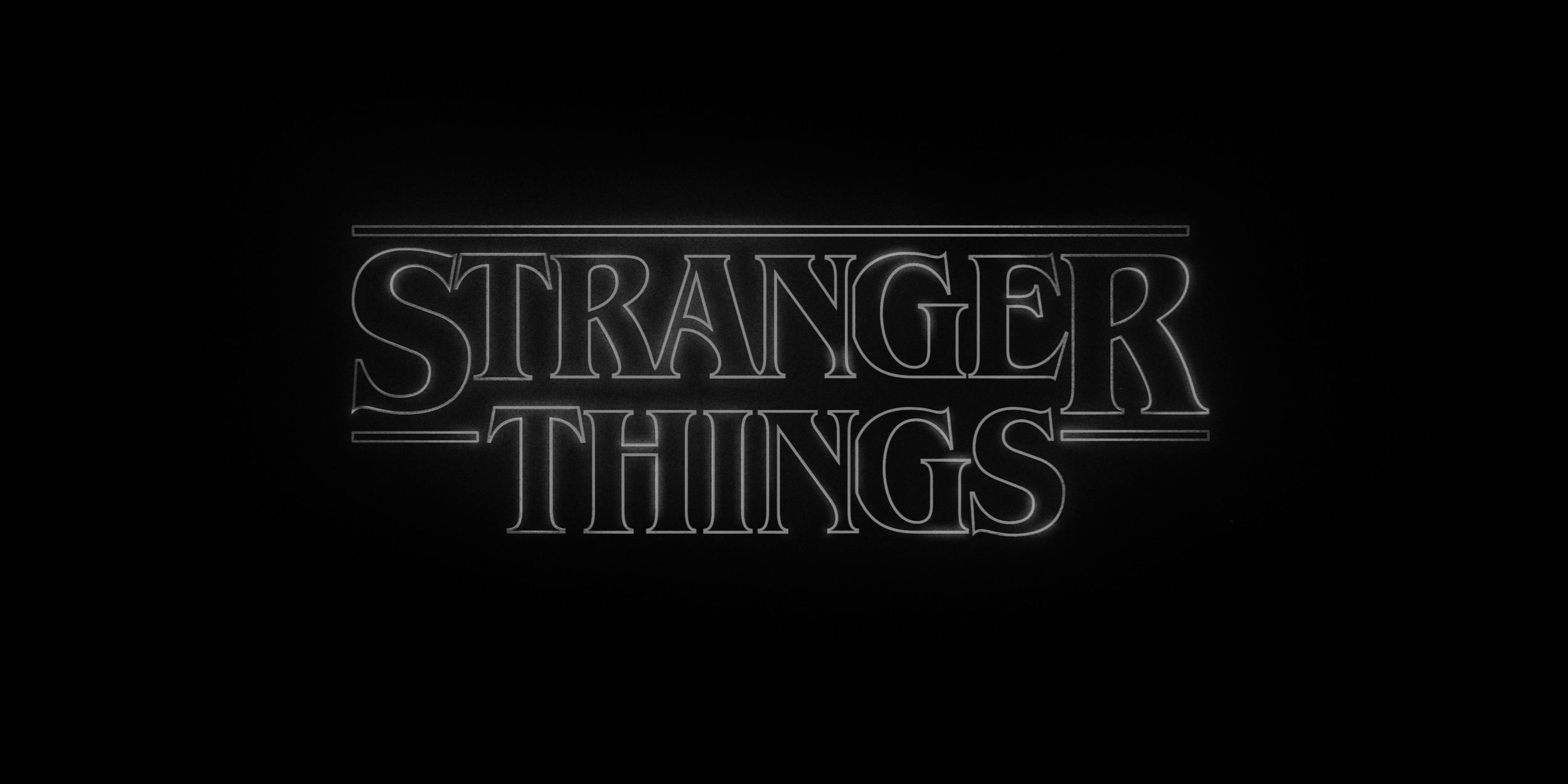 Stranger Things Interview Netflix - Lettering Tutorial