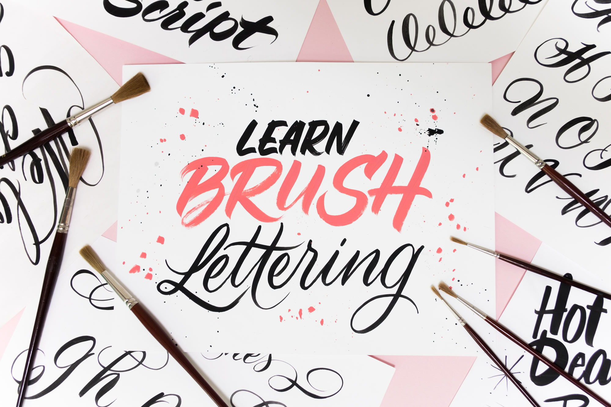 Learn Brush Lettering - Lettering Tutorial