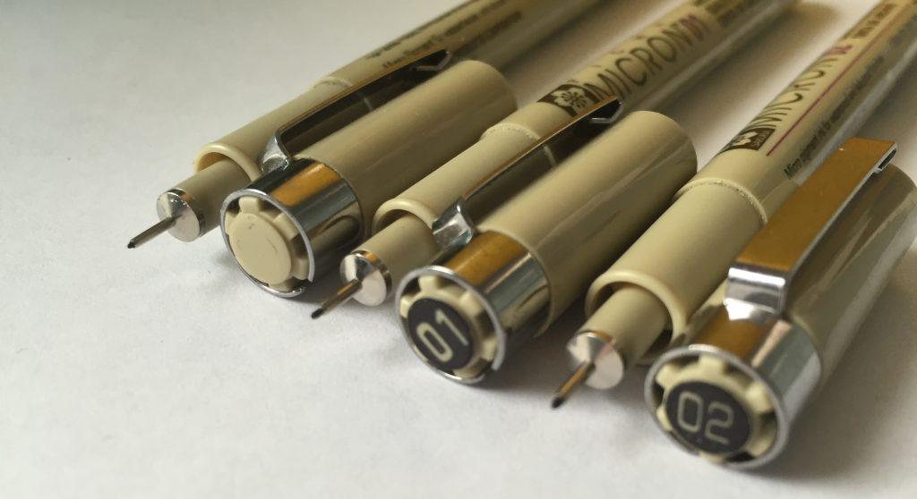 Fine Line Pen Tips - Lettering Tutorial