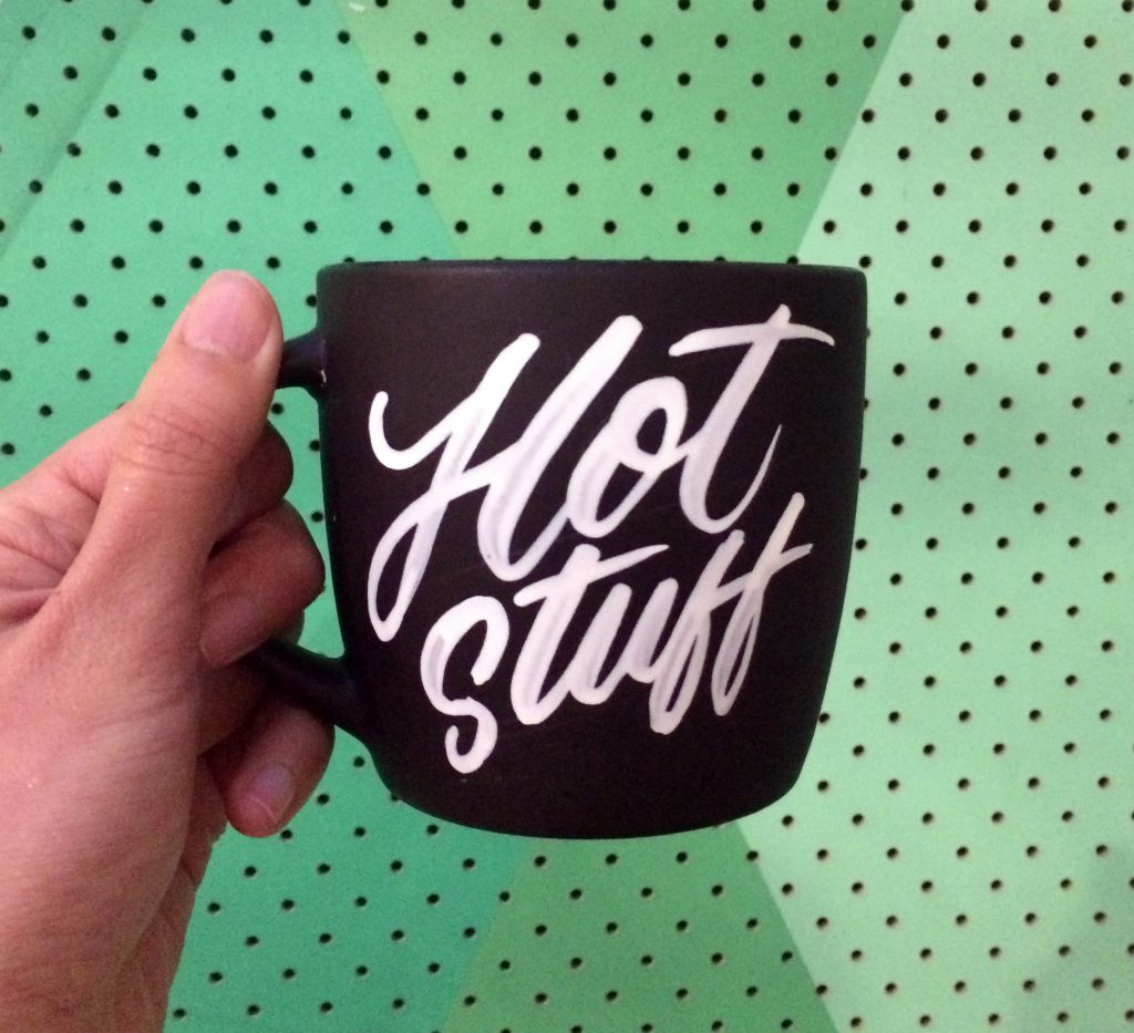 The Letterettes Lettering Mug - Lettering Tutorial