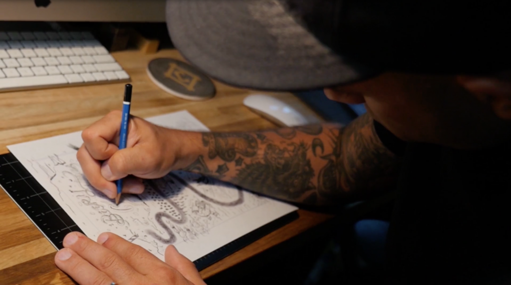 Jon Contino Lettering Video - Lettering Tutorial