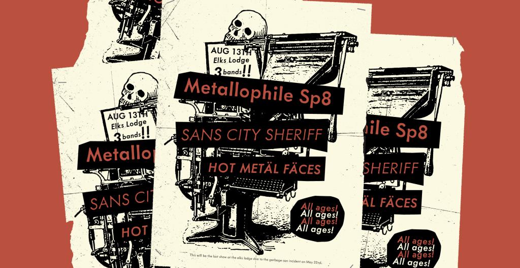 Metallophile Sp8 Mark Simonson - Lettering Tutorial