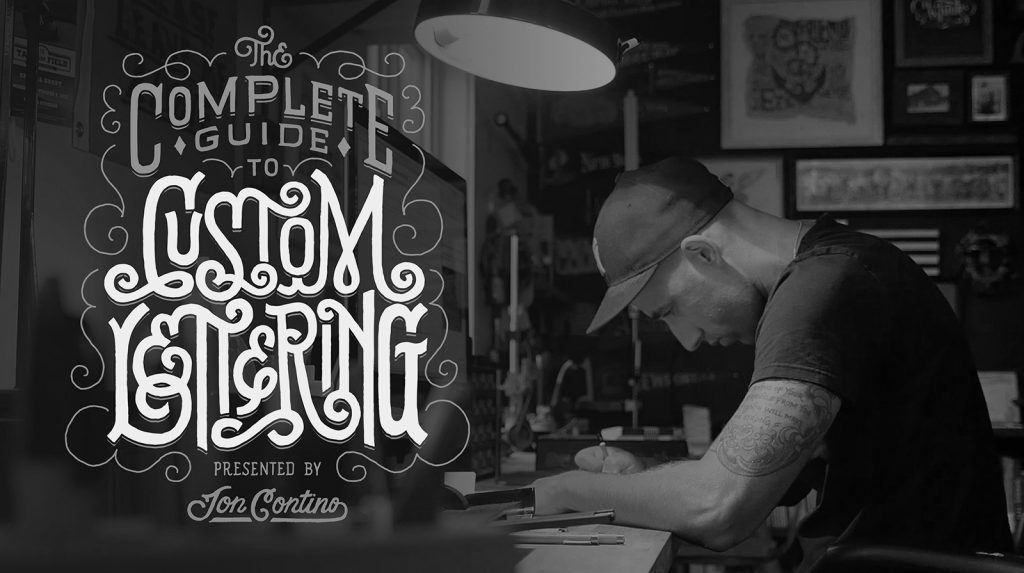 The Complete Guide to Custom Lettering Class by Jon Contino