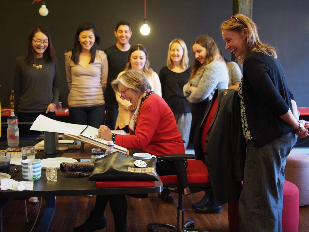 Workshop Barbara Enright Carla Hackett - Lettering Tutorial
